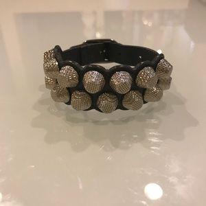 Balenciaga Double Stud Bracelet